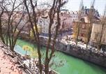 Location vacances Ljubljana - Julija&Robert's Riverview Apartments and Rooms-4
