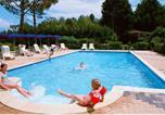Camping avec Piscine couverte / chauffée Gironde - Camping Le Pressoir-1