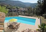 Location vacances Bargemon - Ferienhaus mit Pool (100)-3
