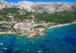 Camping en Bord de mer Croatie - Camping Škrila-1