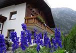 Location vacances Holzgau - Chalet Selbstversorgerhaus Lumper 1-2