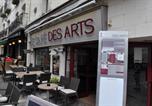 Hôtel Cravant-les-Côteaux - Hôtel du Café des Arts-1