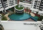 Location vacances Perai - Woodsbury Suites near Penang Sental (2r3b) w unifi-2