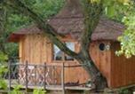 Camping Cassagnabère-Tournas - Les Cabanes de Pyrène-1
