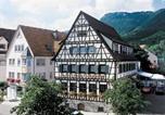 Hôtel Gomadingen - Hotel-Restaurant & Metzgerei Rößle-1