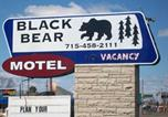 Hôtel Rice Lake - Black Bear Motel-3