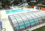 Camping avec Quartiers VIP / Premium Bretagne - Flower Camping les Jardins de Kergal-1