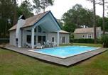Location vacances Biscarrosse - Villa Avec Piscine Sur Le Golf De Biscarrosse-1