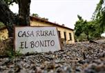 Location vacances Valencia de las Torres - Casa Rural El Bonito-4