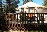 Villages vacances Redmond - Bend-Sunriver Camping Resort 24 ft. Yurt 9-3
