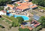 Camping avec Spa & balnéo Landevieille - Castel La Garangeoire-1