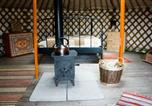 Camping North Wootton - Somerset Yurts-2