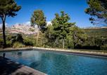 Location vacances Fuveau - Squarebreak - Villa facing the Sainte-Victoire-3