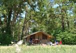 Camping avec Parc aquatique / toboggans Châteauneuf-de-Galaure - Camping L'Hirondelle-4