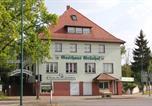 Location vacances Francfort-sur-Oder - Gasthaus & Hotel Grünhof-2