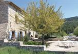 Location vacances Vachères - Holiday Home Sainte Croix A Lauze with Fireplace 03-3