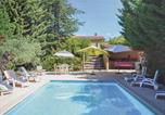 Location vacances Mirabeau - Holiday Home La Bastide de Jourdans with Fireplace I-1
