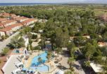 Camping avec Quartiers VIP / Premium Port-Vendres - Homair - La Palmeraie-1