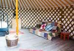 Camping North Wootton - Somerset Yurts-4