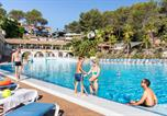 Camping avec Ambiance club Vallauris - Camping Holiday Green-1