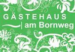 Location vacances Wieda - Gästehaus am Bornweg-2