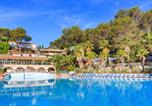 Camping avec Parc aquatique / toboggans Antibes - Camping Holiday Green-1