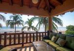 Location vacances Lázaro Cárdenas - Villa 10 on Troncones Beach-1