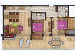 Hôtel Kaprun - Lederer's living-3