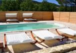 Location vacances Rustrel - Holiday home La Cheminée des Fées-1