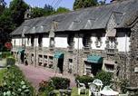 Hôtel Saint-Domineuc - Logis Hostellerie Du Vieux Moulin-1