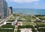 Location vacances Chicago - Millennium Park Two-Bedroom Apartment 3rd Floor Unit 4-2