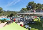 Camping avec Parc aquatique / toboggans Antibes - Camping Holiday Green-2