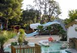 Camping avec Parc aquatique / toboggans Castellane - Camping de la Treille-4