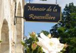 Hôtel Civray-sur-Esves - Manoir De La Rousselliere-3