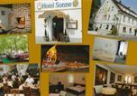 Hôtel Bad Waldsee - Hotel Restaurant Sonne-2