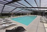 Camping avec Parc aquatique / toboggans Saint-Avit-de-Vialard - Camping de la Pélonie-3