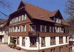 Location vacances Königsfeld im Schwarzwald - Schwarzwaldgasthaus Linde-1
