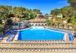 Camping avec Parc aquatique / toboggans Antibes - Camping Holiday Green-4