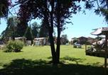 Camping avec Hébergements insolites Pont-de-Poitte - Camping La Pourvoirie des Ellandes-3