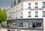 Hôtel Moutiers-sur-le-Lay - Hotel De la Gare-1