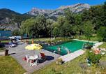Camping avec Site nature Le Castellard-Melan - Campéole Le Lac-1