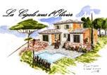 Hôtel Le Beausset - La cigale sous l'olivier-3