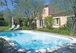Location vacances Auribeau-sur-Siagne - Three-Bedroom Holiday home Grasse with a Fireplace 04-1