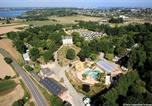Camping avec Parc aquatique / toboggans Donville-les-Bains - Camping Domaine de la Ville Huchet-1