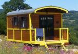 Camping avec Spa & balnéo Cléder - Les Roulottes des Korrigans-2