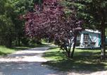 Camping en Bord de lac Chastanier - Camping Les Airelles-1