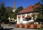 Location vacances Mengen - Gasthof zum Goldenen Kreuz-1