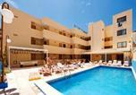 Hôtel Sant Antoni de Portmany - Ibiza Rocks Budget Apartments-2