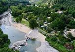 Camping en Bord de lac Chastanier - Camping Le Ventadour-1