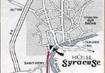 Hôtel Saint-Martin-en-Bresse - Hôtel Syracuse-2